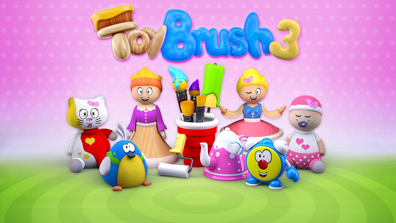 ToyBrush 3D