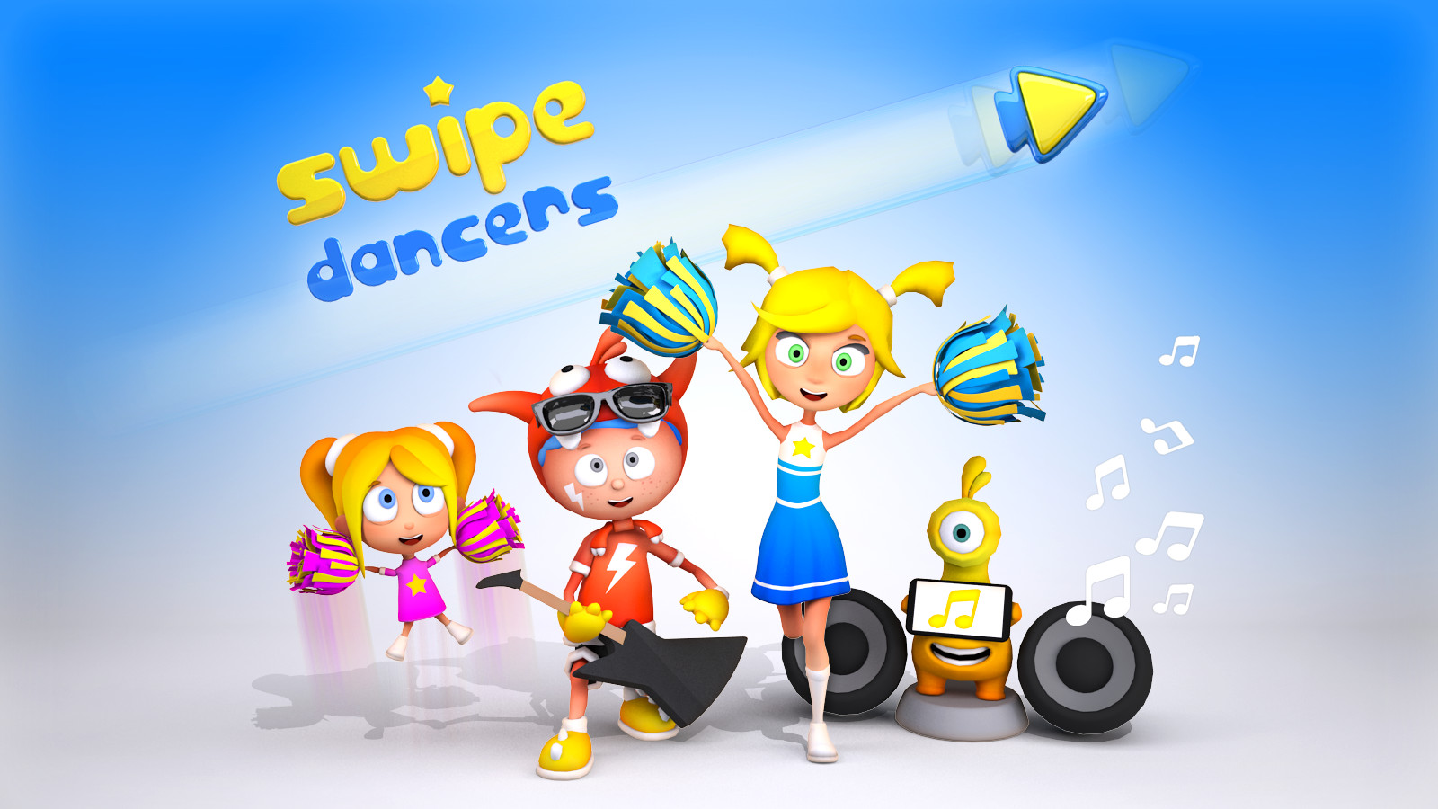 Play Video - Swipe Dancers 3D