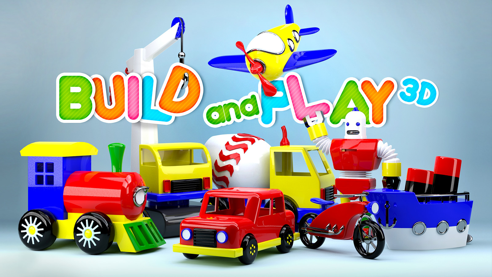 Play Video - Build and Play 3D